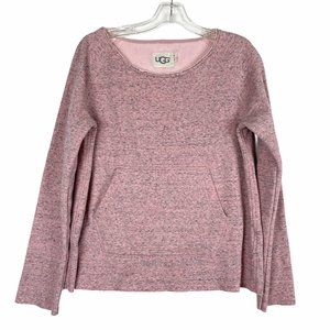 UGG Pink Scoop Neck Sweater Size Small